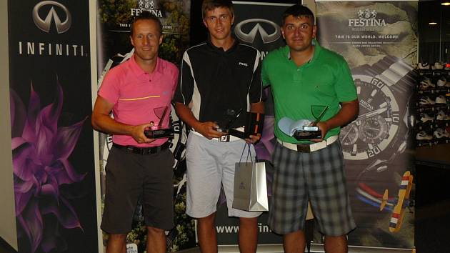 6. Joy Golf and Festina by Infinity. Zleva: Martin Halbich, Michal Valenta, Jakub Skramužský