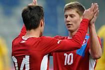 Přátelské utkání: Česká republika U21 - Ukrajina U21