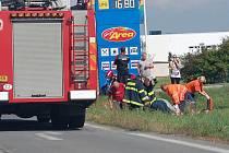 Vážná nehoda u Bakova nad Jizerou.