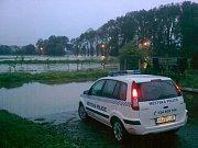 Povodeň v Bakově nad Jizerou a okolí.