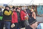 Vánoční trhy v Mnichově Hradišti.