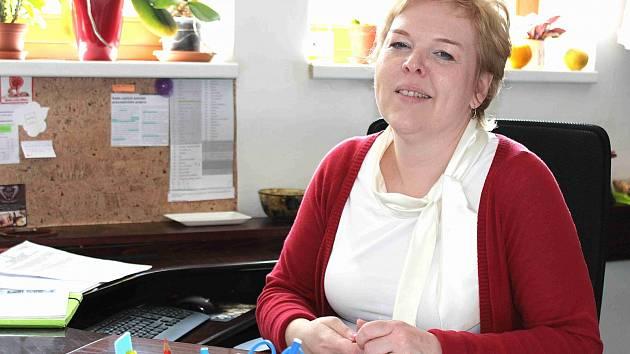 Kamila Galetková, která se stala novou tajemnicí Mnichova Hradiště