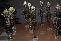 Poslední přípravy na úterní vyhlášení nejlepších sportovců za rok 2009.