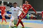 Futsalisté české reprezentace do 21 let prohráli v Mladé Boleslavi s Ruskem 0:7.