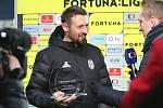 Teplice (ve žlutém) podlehly doma Mladé Boleslavi 0:2. Hráč zápasu brankář Jan Šeda