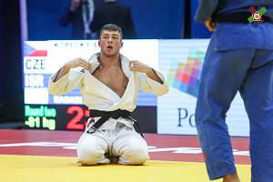 Judista Adam Kopecký rozšířil svou medailovou sbírku o bronz z juniorského mistrovství Evropy.