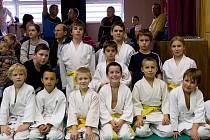 Úspěšná výprava mladoboleslavských judistů na Polabské lize v Poděbradech