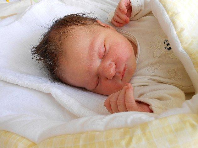 Andrea Sobotková se narodila 11. června, vážila 3,46 kg a měřila 50 cm. S maminkou Ivanou a tatínkem Ondřejem bude bydlet v Turnově.