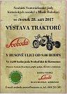 Součástí Svatováclavské jízdy se v Mladé Boleslavi stala i výstava traktorů Svoboda.