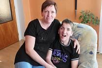 Pavel Boška s maminkou
