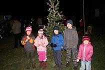 Rozsvícení vánočního stromu ve Skorkově