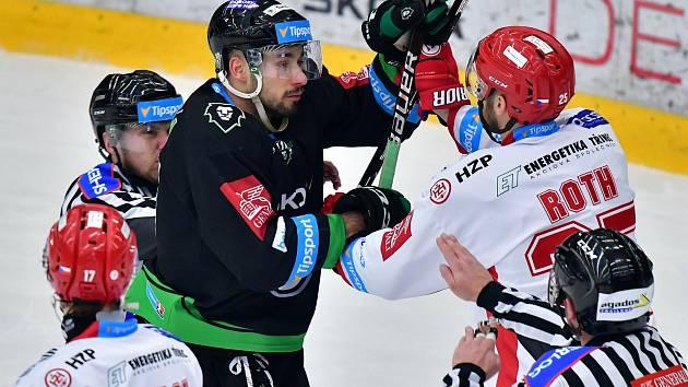 Tipsport extraliga: BK Mladá Boleslav - HC Oceláři Třinec.