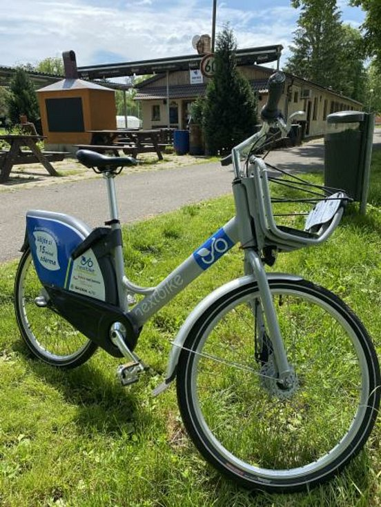 Bakov má vlastní sdílená kola