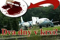 Muž se podřezal v lese poblíž občerstvení letadlo u silnice R10 mezi Mladou Boleslaví a Bakovem nad Jizerou.