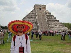 Richard Polma se zúčastnil fyzikální olympiády v Mexiku.