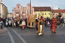Putování k betlému v Mladé Boleslavi