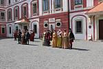 Zámek Mnichovo Hradištěse vrátil do doby renesance.