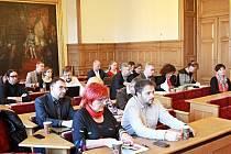 Foto ze zasedání.