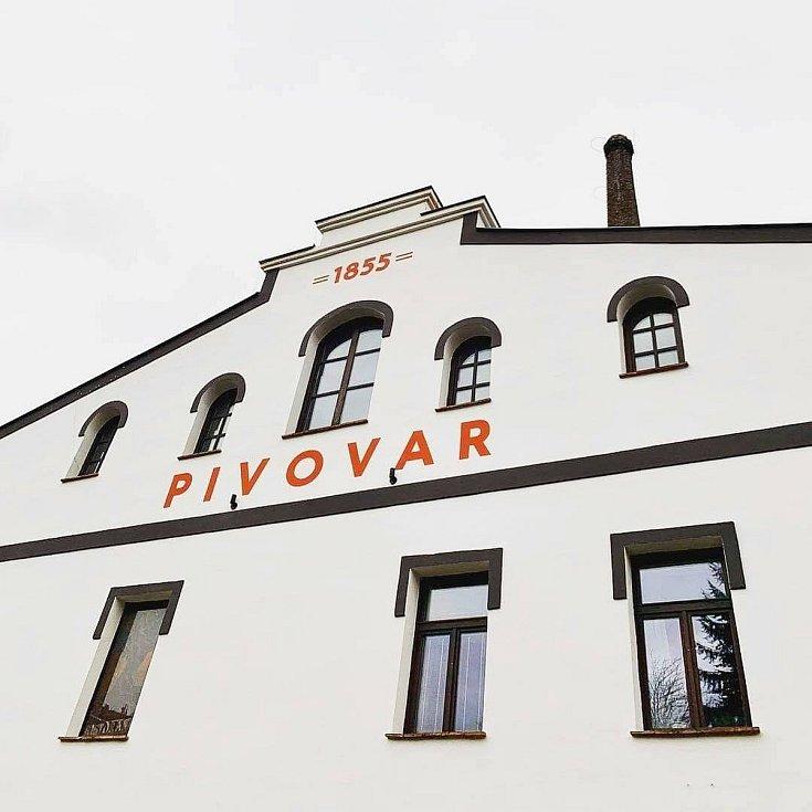 Restaurace eMBe pivovar v Mladé Boleslavi.