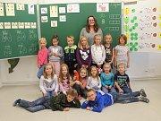 Žáci 1. třídy ZŠ Kněžmost