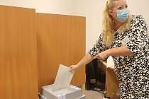 Z voleb 2020 v Mnichově Hradišti.