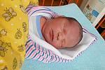 Daniel Louda se narodil 20. února, vážil 3,53 kg a měřil 50 cm. Maminka Soňa a tatínek Tomáš si ho odvezou domů do Bojetic, kde už se na něho těší bráška Matýsek.
