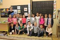 1. A ZŠ Bělá pod Bezdězem,  třídní učitelka Věra Švermová