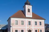 Budova obecního úřadu v Kněžmostě