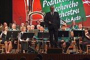 Podnikový dechový orchestr Škoda Auto vystoupil ve středu v Domu kultury v Mladé Boleslavi