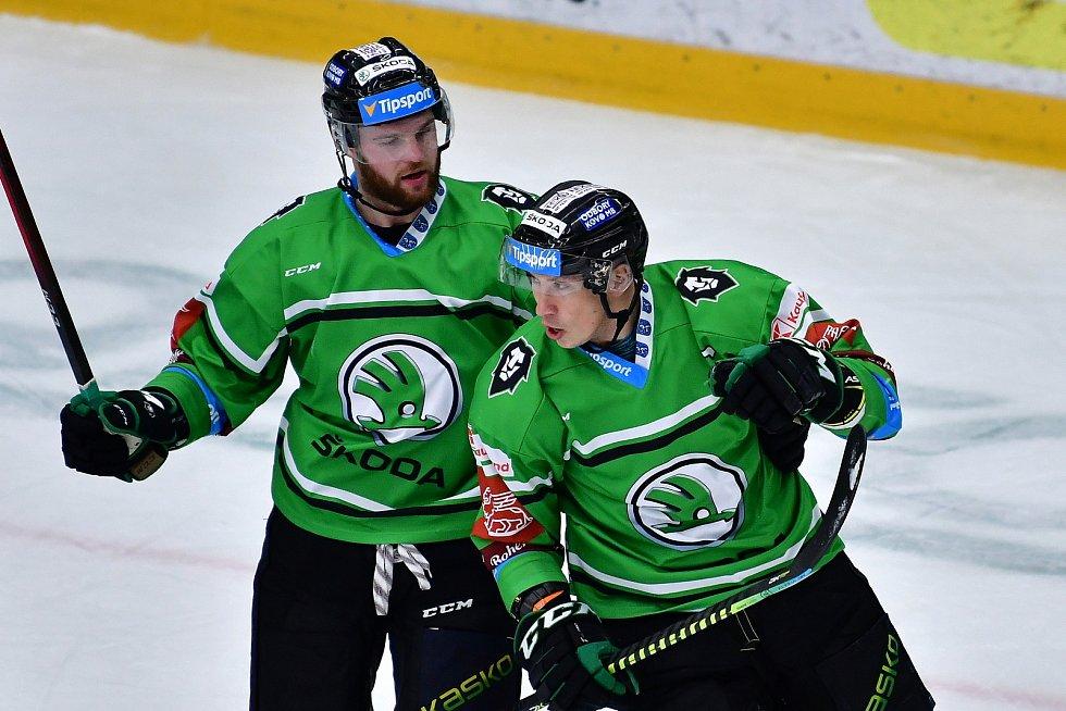 V extraligové dohrávce 8. kola porazila Mladá Boleslav Olomouc 6:1.