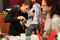 Z Festivalu kávy, čokolády a čaje v Mladé Boleslavi.