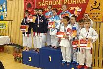 Národní pohár karate v České Lípě