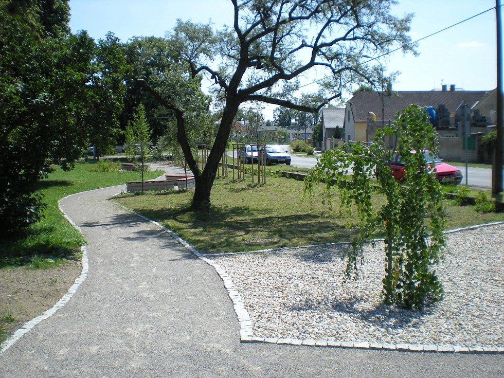 Park Drážka po revitalizaci.