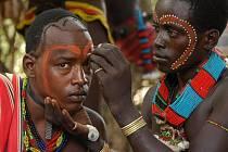 Etiopané při jedné ze svých oblíbených činností