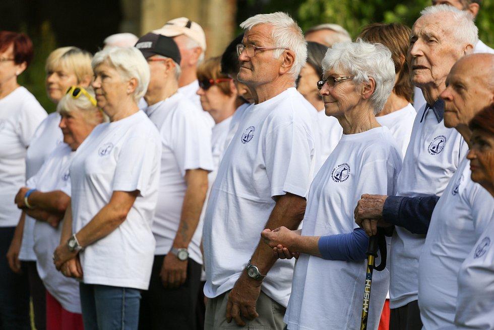 Sportovní hry v Klementince v pondělí 13. září 2021.