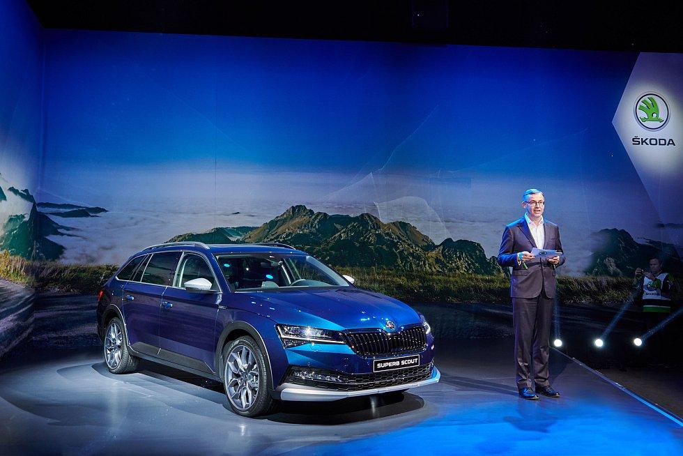 Škoda představila v Bratislavě značku iV pro elektromobilitu.