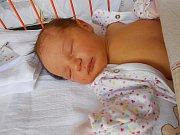 Nela Korpáčová se narodila 10. června, vážila 3,38 kg a měřila 50 cm. S maminkou Adélou a tatínkem Lukášem bude bydlet v Mladé Boleslavi.