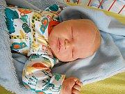 Adam Bílek přišel na svět 27. ledna s mírami 4,08 kg a 53 cm. S maminkou Lucií a tatínkem Davidem bude bydlet v Mnichově Hradišti, kde už se na něho těší bráška Davídek.