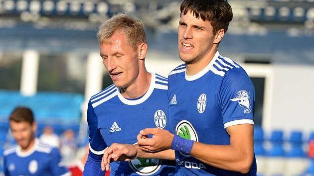 Fotbalisté Mladé Boleslavi dokázali proti Olomouci smazat dvoubrankové manko a brali bod za remízu 3:3.