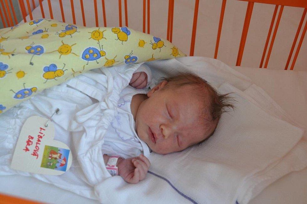 Zuzana a Přemysl Líbalovi se od 15. dubna radují z dcerky Barunky (3,8 kg a 49 cm). Barunka má sestřičku Natálku.