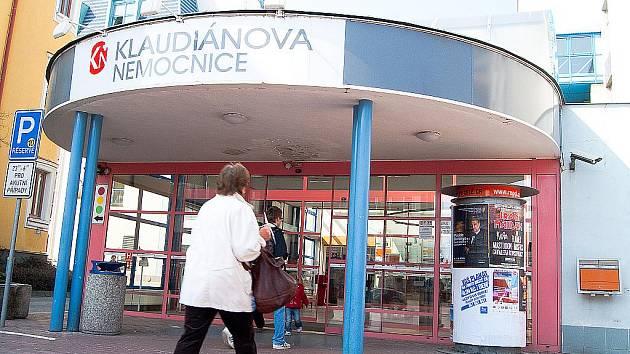 Klaudiánova nemocnice Mladá Boleslav. Ilustrační foto.