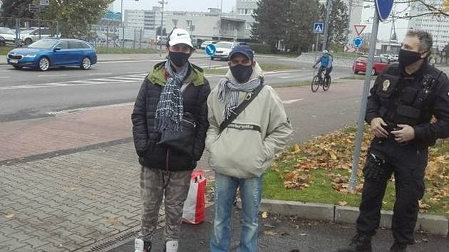 Bezdomovci z Mladé Boleslavi.
