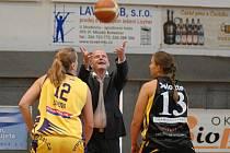 O pohár města Mladé Boleslavi: Basket Slovanka Mladá Boleslav - BK Horskholm