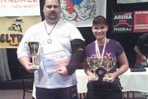 František Živný a Veronika Milotová se zaskvěli na šampionátu v armsportu.