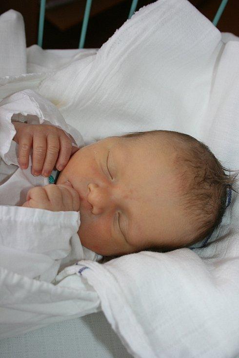 Ondřej Štejnar (3,2 kg) se narodil 17. ledna do rodiny Elišky a Radka z Mnichova Hradiště.