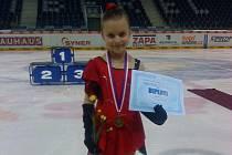 Anna Hulínová si vyjela v Liberci bronzovou medaili