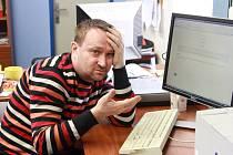 Hostem online rozhovoru byl krajský šéfredaktor Deníku Jiří Macek