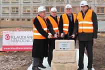 Klaudiánova nemocnice staví pavilon onkologie
