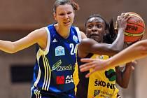 Ženská basketbalová liga: Slovanka Mladá Boleslav - Strakonice