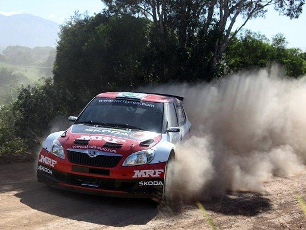 Soutěž v Nové Kaledonii - Škoda MRF